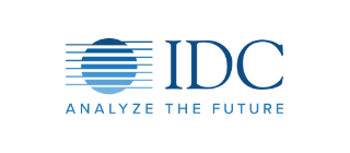 Gezeigt wird das offizielle Logo von IDC