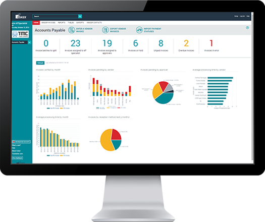 Accounts Payable Software Dashboard