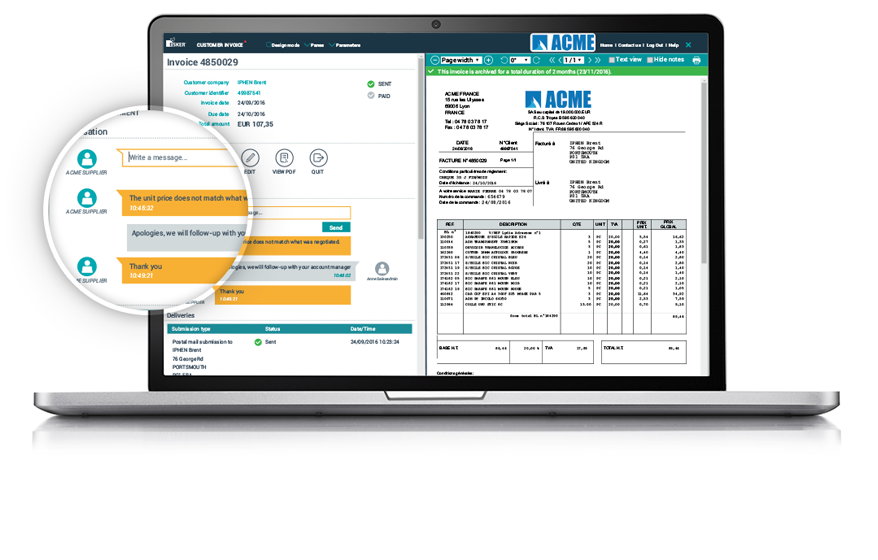 Acknowledge The Receipt Of A Resume Excel Accounts Receivable Management Software  Ar Automation Free Receipt with Rent Receipt Template Doc  Less Paper Handling With Einvoice Example Vat Invoice Excel