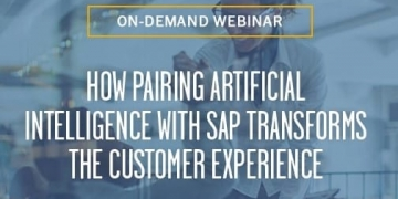 How Pairing Artificial Intelligence with SAP Transforms the...